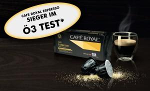 Cafe Royal Kapseln Testsieger in Blindverkostung