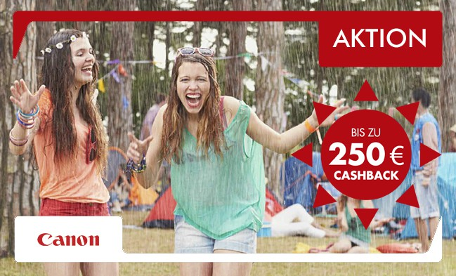 Canon CashBack Aktion bei di-life.at