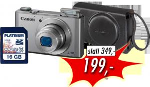 Canon Powershot S110 inkl. Zubehörpaket