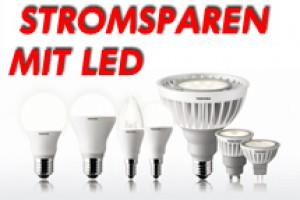 mit LED Lampen Strom und Geld sparen