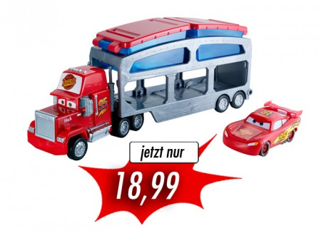 Mattel Disney Cars Macks Farbwechsel Station