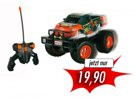 Dickie Toys Dickie RC Dino Hunter RTR 1:24 ferngesteuertes Auto orange