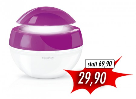Soehnle 68045 Airfresh Plus Purple Limited Edition