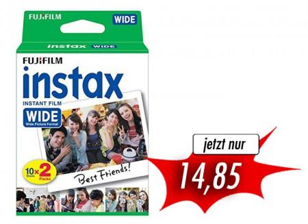 Fujifilm Instax Film glossy Wide Doppelpack