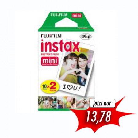 Fujifilm Instax Mini Film - 20 Aufnahmen