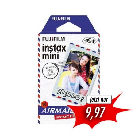 FUJI Instax Mini Sofortbildfilm Airmail (10 Bilder)