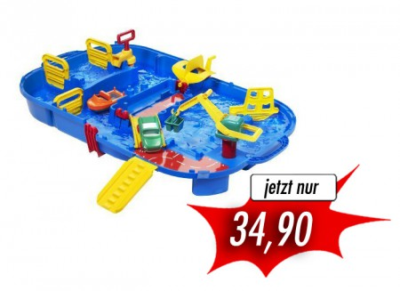 AquaPlay 516/616 Aquabox mit Schleuse