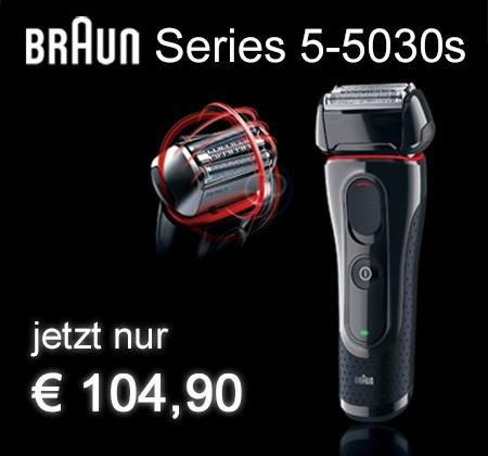 Braun Series 5-5030s jetzt nur € 104,90