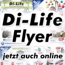 Di-Life Flyer, jetzt auch online.
