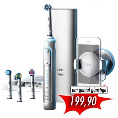 Oral-B Genius 9000 White Elektrische Zahnbürste