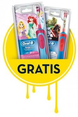 gratis Kinderzahnbürste