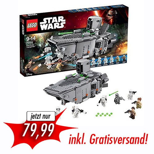 LEGO - STAR WARS EPISODE VII - FIRST ORDER TRANSPORTER