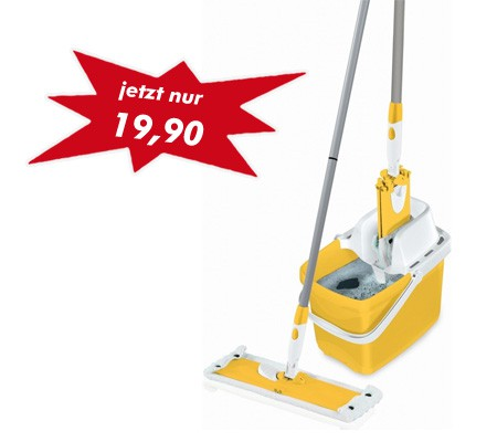 "Leifheit - Set Combi Clean M ""sunflower yellow"" 52047"