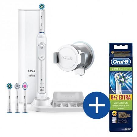 Oral-B GENIUS 9000s + kostenlos CrossAction 8+2